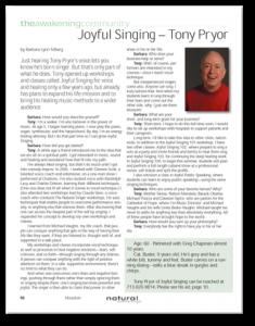 Natural Awakenings article